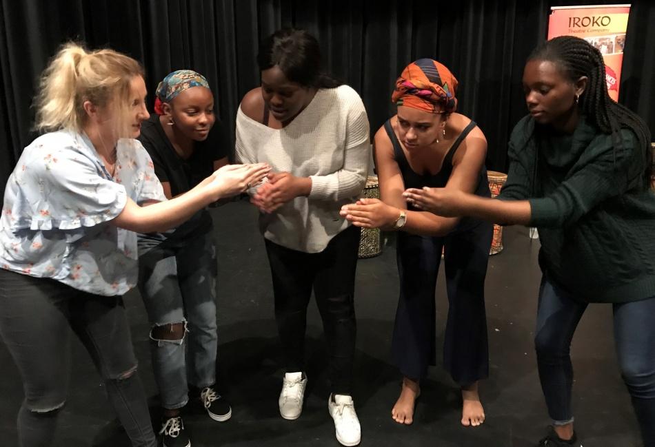 IROKO Theatre Company, Storytelling class