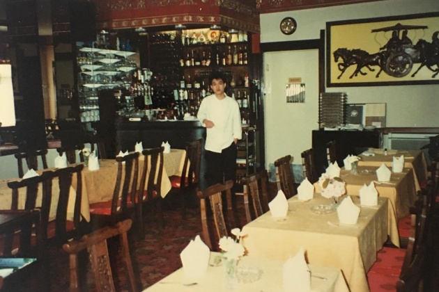 Mr Yau Arrived in UK working at the restaurant in July 1988