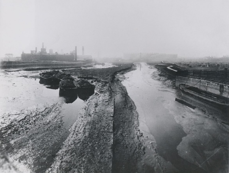 Channelsea river 1900 - Newham Local Studies Library and Archive