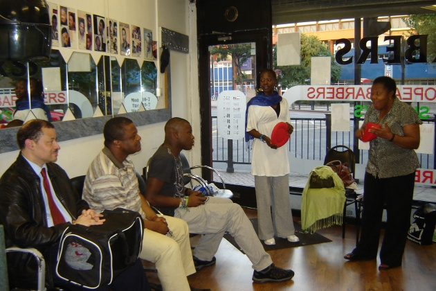 Comfort Okolo - Barbers