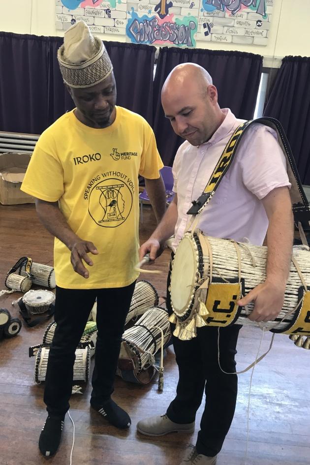 IROKO Theatre Company, Talking drum workshop