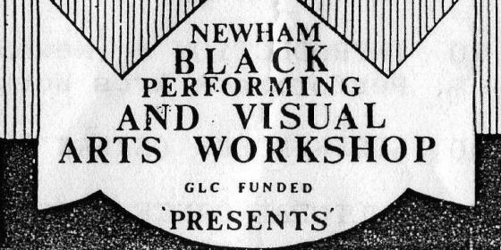 Tony Cheeseman, Newham Black Performing and Visual Arts Workshop.