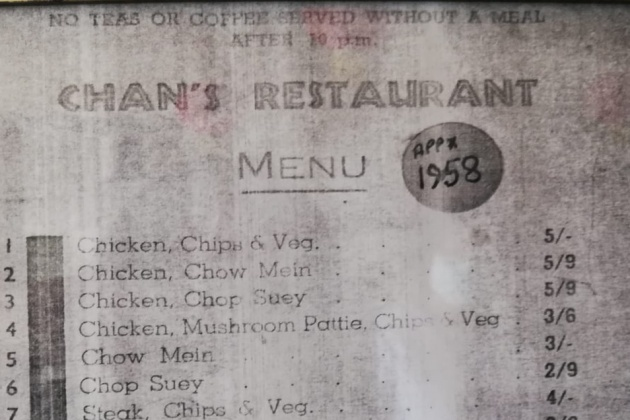 Mr Wan, Chan's restaurant